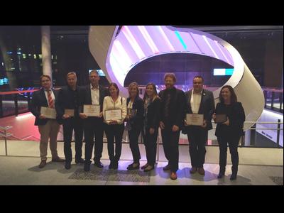 Fotografia del lliurament dels premis