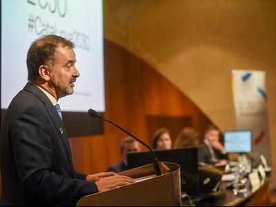 El conseller Alfred Bosch ha clos l'acte sobre l'Agenda 2030