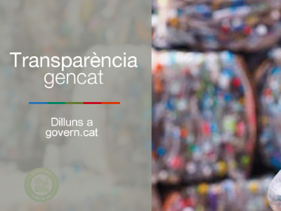 El Govern aposta per l'economia circular i la recollida selectiva