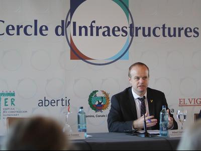 Albert Castellanos inaugura el cicle de conferències del Cercle d'Infraestructures