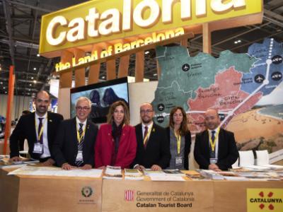 La Generalitat promociona Catalunya a la 40a edició de la fira World Travel Market de Londres