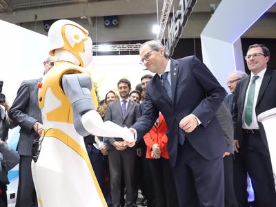 El president Torra ha inaugurat l'Smart City Expo  (foto: Rubén Moreno)