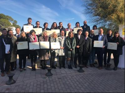 Dotze municipis catalans reben els primers distintius turístics de Barris i Viles Marineres que atorga la Generalitat