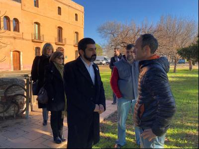 El consell El Homrani al Parc Agrari del Baix Llobregat
