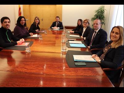 Fotografia de la reunió