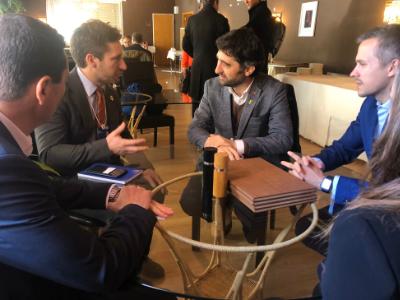 El conseller Puigneró porta el projecte d'identitat autosobirana 'IdentiCAT' al Fòrum de Davos (Suïssa)
