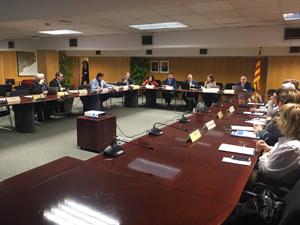 Sessió del consell d'administració d'avui.