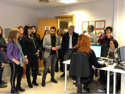 Inauguració SIE Vilanova i la Geltrú