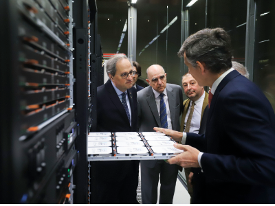 Visita Supercomputing