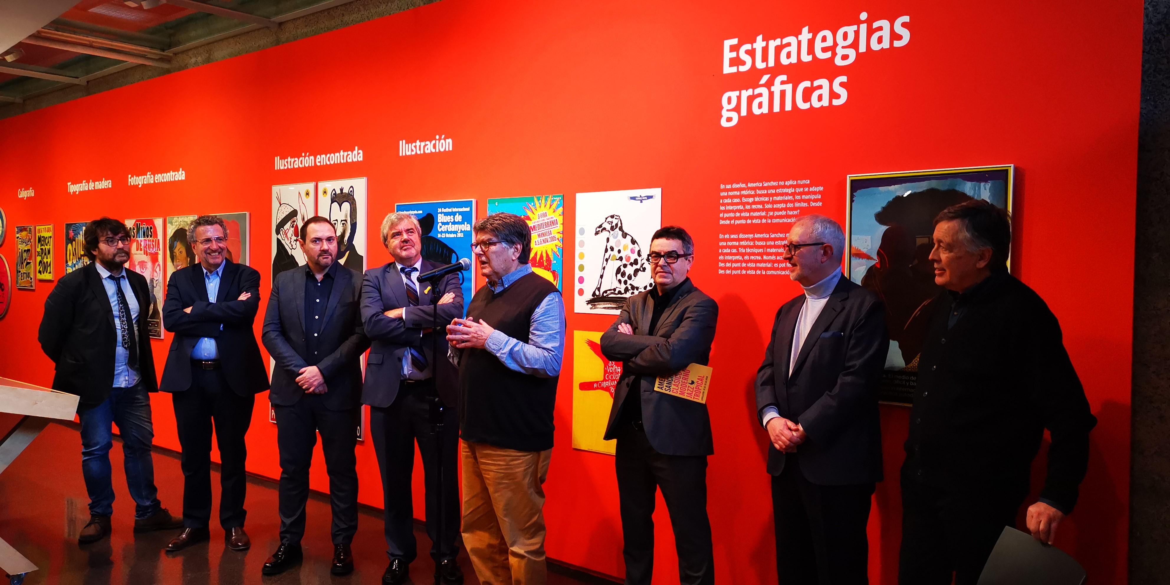 Inauguració exposició America Sanchez