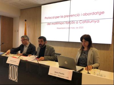 Protocol per la prevenció i l'abordatge del matrimoni forçós a Catalunya