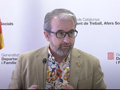 El secretari general Josep Ginesta