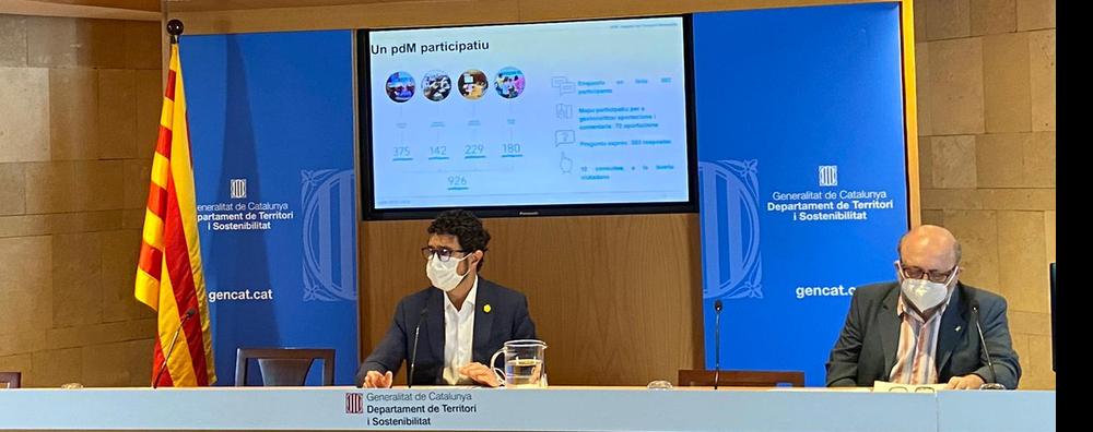 Imatge de la presentació del PDM