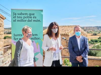 La consellera Budó presenta el PUOSC de la vegueria de Lleida