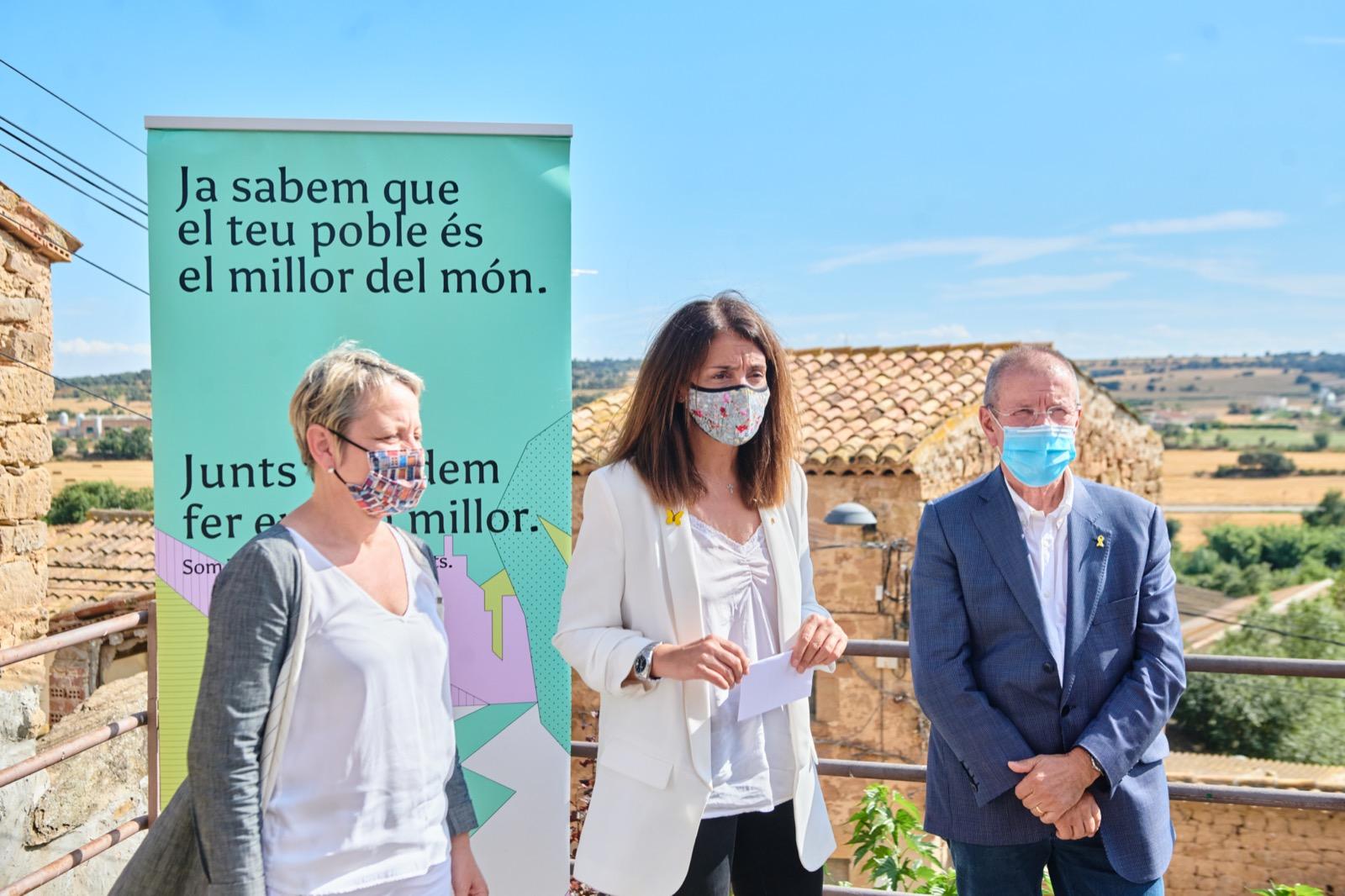 La consellera Budó presenta el PUOSC de la Demarcació de Lleida