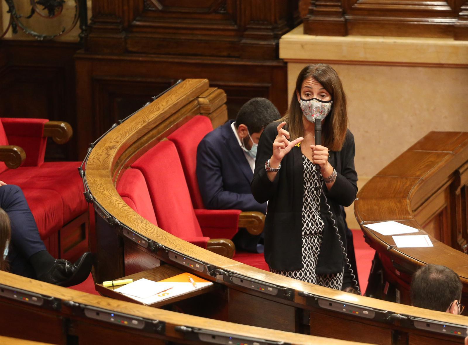 Consellera Budó Parlament