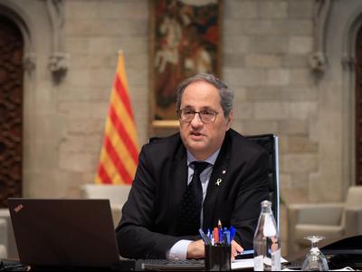 El president Torra es reuneix amb la Confederació Empresarial d'Hostaleria i Restauració