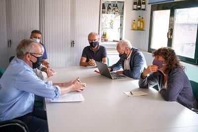 Reunió amb representants DO Empordà