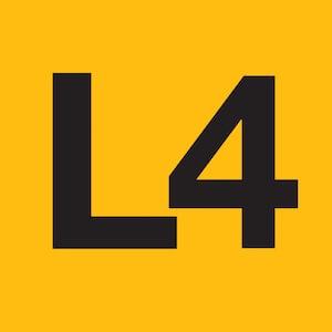 Logotip de l'L4 del metro de Barcelona