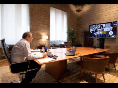 Reunió amb directors i directores de Prima`ria
