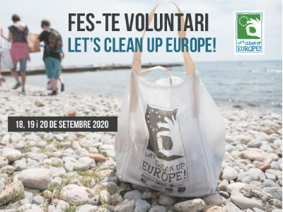 Cartell campanya Let's clean up