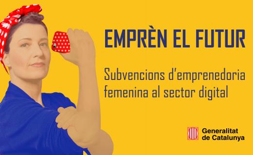 Subvencions d'emprenedoria femenina al sector digital