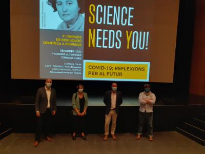 Organitzadors de la Jornada Science Needs You 2020 a la Ràpita, a les Terres de l'Ebre