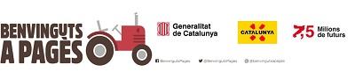 Logotip Benvinguts a Pagès