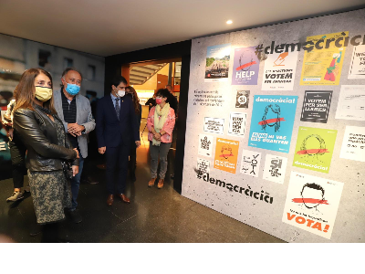 La consellera Budó inaugura l'espai 1 d'octubre a Igualada (Foto: Rubén Moreno)