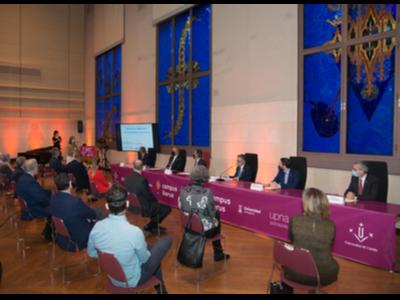 Imatge de l'acte de la inauguració del curs acadèmic 2020-2021