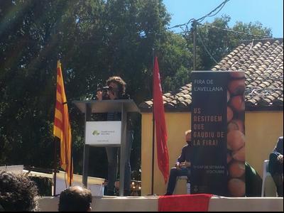 Intervenció de la consellera Teresa Jordà