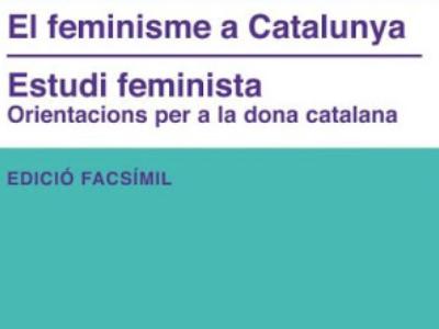 Estudi Feminista, portada facsímil