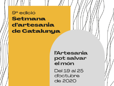 Programació de la Setmana d'Artesania de Catalunya 2020