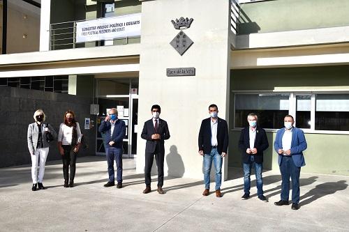 El conseller Puigneró ha presentat el projecte de desplegament de la fibra òptica de la Generalitat al tram Vilafranca del Penedès - Pontons
