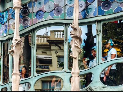 Imatge de la Casa Batlló, a Barcelona