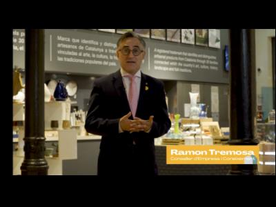 El conseller Tremosa en la inauguració virtual de la Setmana