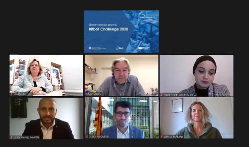 Lliurament premis Bitbot Challenge 2020
