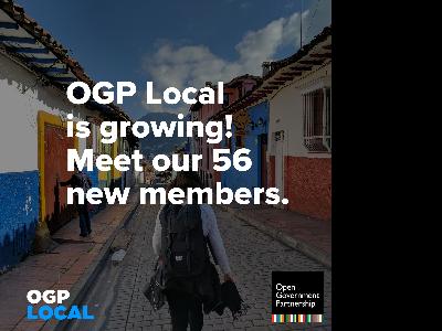 Catalunya esdevé membre de l'OGP, la xarxa internacional de govern obert