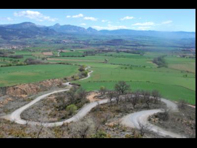 Imatge d'un camí de muntanya