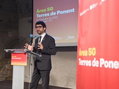 Presentació Àrea 5G Terres de Ponent