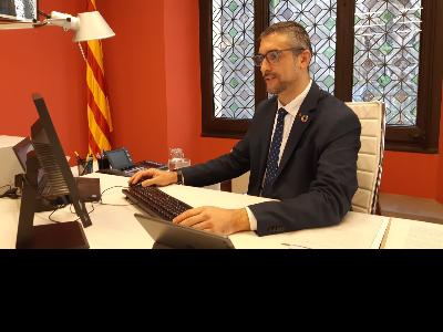 Bernat Solé reunit en la presentació del pla de mesures per a les eleccions 2021