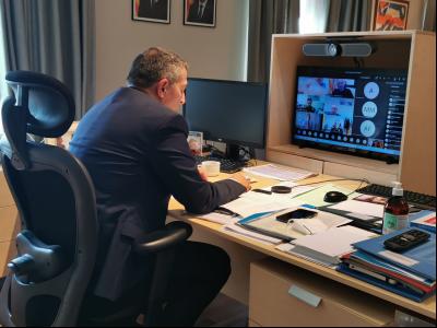 Reunió conseller Sàmper policies locals