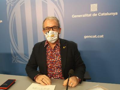 El secretari general, Josep Ginesta