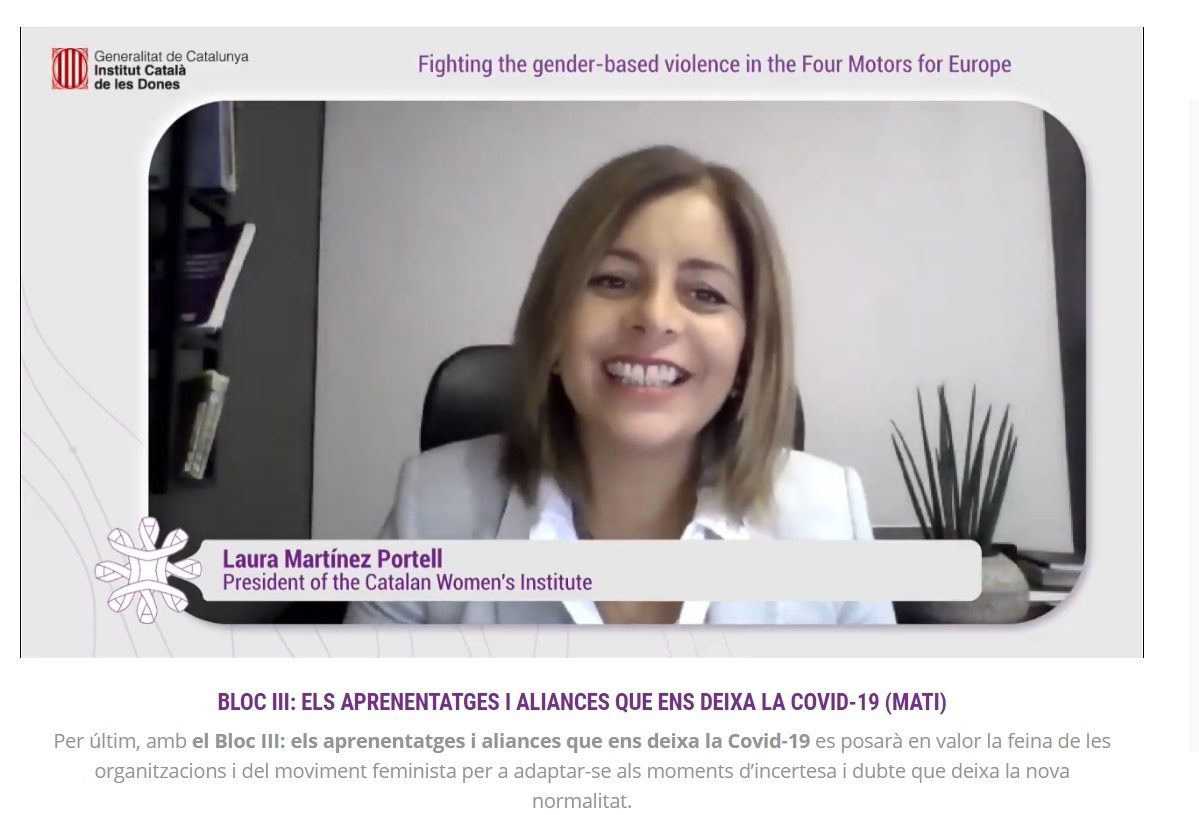 Laura Martínez Portell, presidenta de l'ICD