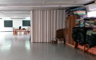 Una imatge de l'alberg, preparat per a l'arribada dels usuaris.