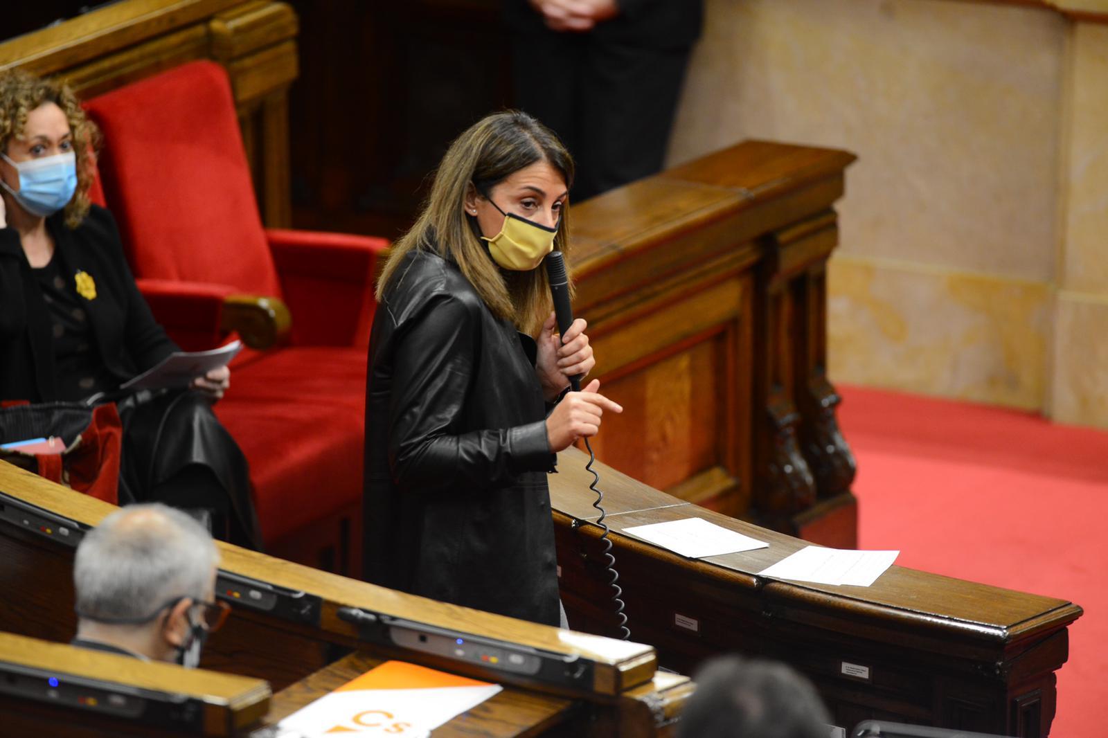 Consellera de la Presidència al Parlament