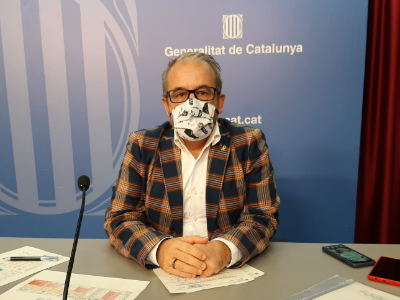 El secretari Josep Ginesta
