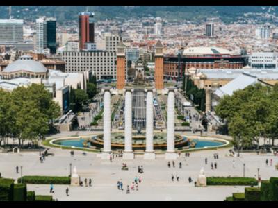 Fotografia de la Font Màgica de Montjuïc
