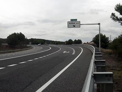 senyalització carreteres orientació
