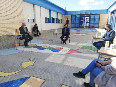 Visita a l'Escola La Parellada